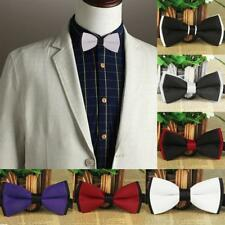 Tuxedo Bow Ties Formal Butterfly Neckties Pre-Tied Adjustable Novelty Bow Tie
