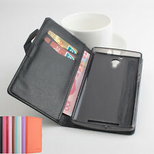 "Multi-Color Folio Leather Case Cover Skin For 5.5"" ZOPO ZP520 Smartphone"