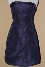 J CREW SELMA BRIDESMAID 29284 SILK TAFFETA SIZE 8 DARK PACIFIC PARTY EVENING NWT