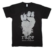 Rage Against the Machine Clenched Fist Distressed Men's Black Cotton T-Shirt