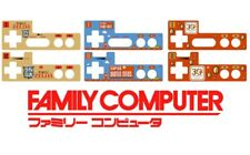 Nintendo FAMICOM Controller overlay sticker - Mario Zelda and more soon!!!