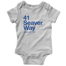 New York Baseball Stadium QNY One Piece - Baby Infant Creeper Romper NB-24M NYC