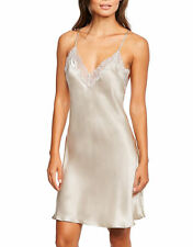 figleaves Womens Lana Pure Silk and Lace Chemise