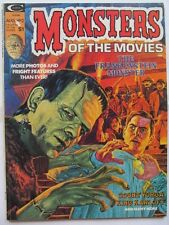 Monsters of the Movies #2 (1974) Marvel/Curtis classic horror film mag; VF/-