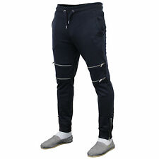 New Mens Bottoms Skinny Drop Crotch Joggers Cuffed Casual ( GA – 177 )