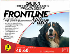 Frontline Plus for Extra Large Dogs 40-60kg (Red)
