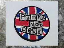 THE EXPLOITED -ED PUNKS NOT DEAD SCOTTISH EMBROIERED SEW ON PATCH ROCK METAL