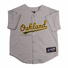 Oakland Athletics Majestic Child Road Replica Baseball Jersey