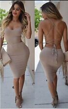 Sexy Cocktail Dress Women Bodycon Party Bandage Club Night Wear Dress Evening