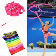 Dance Ribbon Gym Rhythmic Gymnastics Art Gymnastic Ballet Streamer Twirling Rod