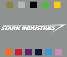 Stark Industries Die Cut Vinyl Decal • Iron Man Car Window Sticker • Choose Size