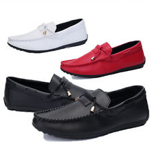 New Men's Leather Slip On Loafer Driving Moccasin Loafer Soft Casual Shoes Z94