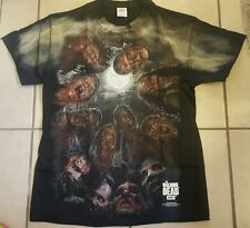 NEW Men's The Walking Dead AMC TV show Zombies zombie bite T shirt mens M-3XL