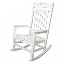 Trex Outdoor Furniture Recycled Plastic Yacht Club Rocking Chair. Delivery is Fr