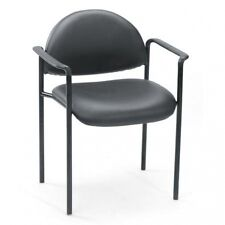 Boss Office Products Diamond Stacking Chair with Arms. Huge Saving