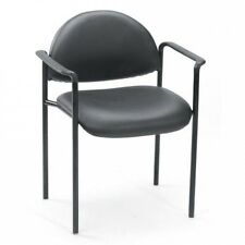 Boss Office Products Diamond Stacking Chair with Arms. Free Shipping