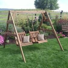 A & L Furniture A-Frame Swing Stand for Swing or Swing Bed with Hangers. Free De