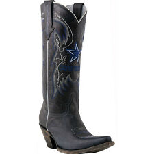Ladies Lucchese M5050.S52F Dallas Cowboy Boots Officially Licensed