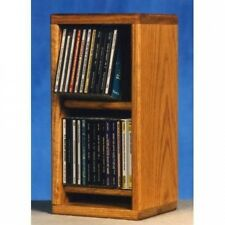 Wood Shed 200 Series 28 CD Multimedia Tabletop Storage Rack. Shipping is Free