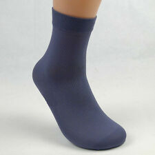Lot 5/10Pair Men Casual Sport Thin Opaque Solid Short Stockings Ankle Socks Hot