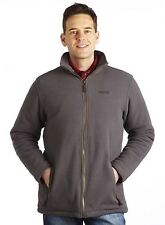 Regatta Alfred Mens Quilted Lined Warm Winter Thermal Fleece Jacket Grey