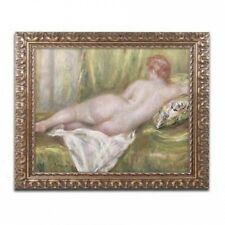 "Trademark Fine Art ""Reclining Nude from the Back"" Canvas Art by Pierre Renoir, G"