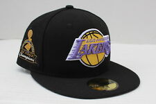NBA Los Angeles Lakers Title Detailer New Era 59Fifty Fitted Hat -Black