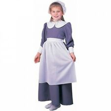 Pilgrim Girl Child Halloween Costume. Huge Saving