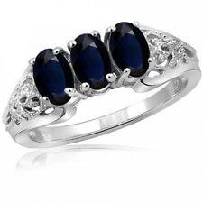 JewelersClub 2.01 Carat Sapphire Gemstone Women's Sterling Silver Ring. Delivery