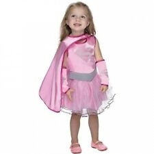 DC Comics Supergirl Pink Toddler Halloween Costume. Delivery is Free