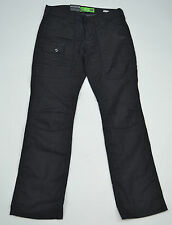 MENS GIO GOI BLACK DENIM REGULAR FIT JEANS STYLE: DEMO OIL DUF SIZE 28S
