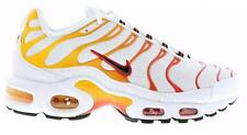 Nike Air Max Plus Tuned 1 Tn White Black Gold Red Mens Trainers 604133
