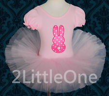 Girl Pink Rabbit Ballet Tutu Dance Costume Fancy Party Dress Kid Size 2T-8 #046
