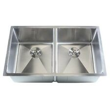 Stainless Steel Undermount Kitchen Sink Double Bowl. Delivery is Free
