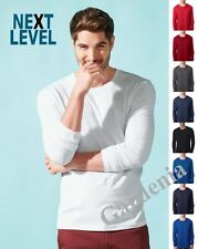 Next Level N3601 Next Level Men's Long-Sleeve Cotton Crew neck T-Shirt.