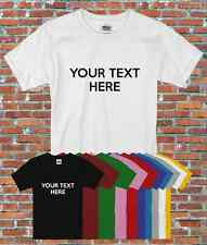 Personalized Your Own Text Hen Stag Gift Multiple Colours Fonts T-Shirt S-2XL