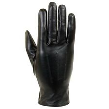 Isotoner Women's Lined Black Leather Gloves. Shipping Included