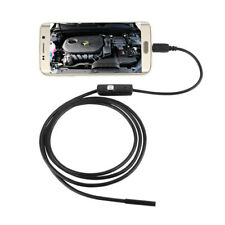 5.5mm 7MM 6LED Android PC Endoscope Waterproof Inspection Borescope Video Camera