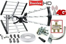 OUTDOOR AND LOFT 4G LTE FULL INSTALL KIT DIGITAL TV AERIAL / FREEVIEW HD DVB-T