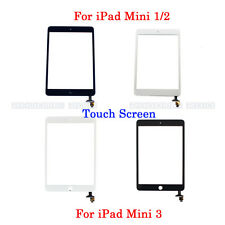 Front Touch Screen Glass Digitizer With IC Connector Assembly For iPad mini1/2/3