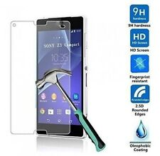 Premium Real New 9H Tempered Glass Film Screen Protector for Sony Xperia Series