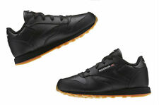 Reebok Infant toddlers(TD) CLASSIC LEATHER sneakers Black / Gum V69625