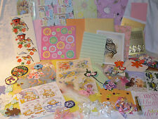 120 PIECE CRAFT BUNDLE CLEAROUT FOR CARDMAKING, PAPERCRAFTING, SCRAPBOOKING b