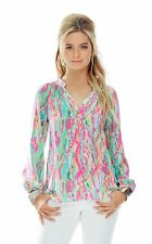 Lilly Pulitzer Elsa Top Multi Dripping in Jewels