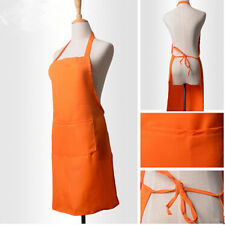 Restaurant New Kitchen Women Uniform Style Apron Pocket Cooking Halter