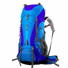 65L Large Outdoor Waterproof Backpack Internal Frame Camping Hiking Travel Bags