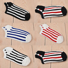 5Pairs Ankle Crew Mens Socks Cotton Low Cut NO SHOWER Casual Sport GYM Sock