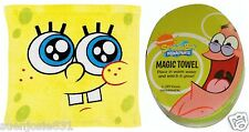 Spongebob Squarepants Magic Wash Cloth Towel 1pc Washcloth Party Favor