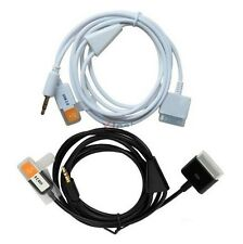 3.5mm 30Pin to USB Aux Car Charger Audio Cable Adapter for iPhone4 4S iPod i471