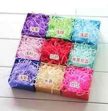50g CRAFT shredded TISSUE PAPER wedding Gift Boxes / Hampers decoration
